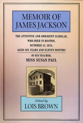 Memoir of James Jackson book