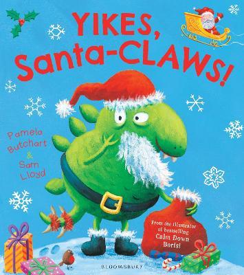 Yikes, Santa-CLAWS! book