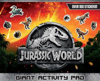 Jurassic World: Giant Activity Pad (Universal) book