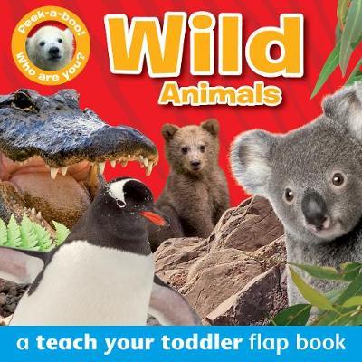 Peek-a-Boo Books: Wild Animals by Angela Giles