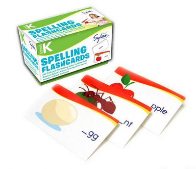 Kindergarten Spelling Flashcards by Sylvan Learning