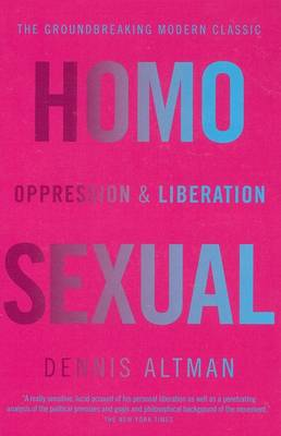 Homosexual: Oppression and Liberation book