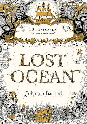 Lost Ocean Postcard Edition by Johanna Basford