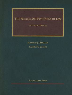 Nature and Functions of Law by Harold Berman