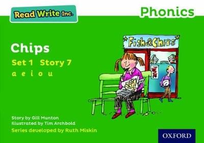 Read Write Inc. Phonics: Green Set 1 Storybook 7 Chips book