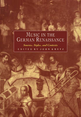 Music in the German Renaissance book