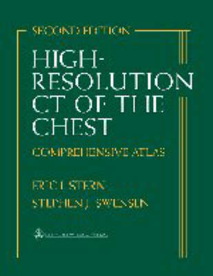 High-resolution CT of the Chest: Comprehensive Atlas by Eric Stern