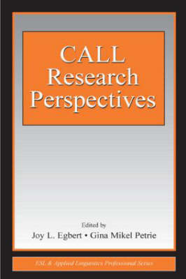 Call Research Perspectives by Joy L. Egbert