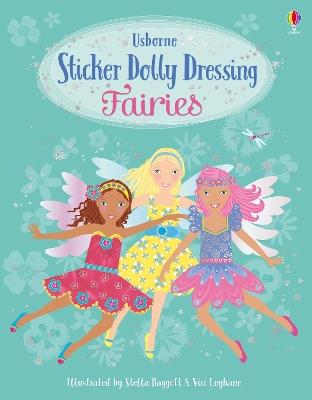 Sticker Dolly Dressing Fairies book
