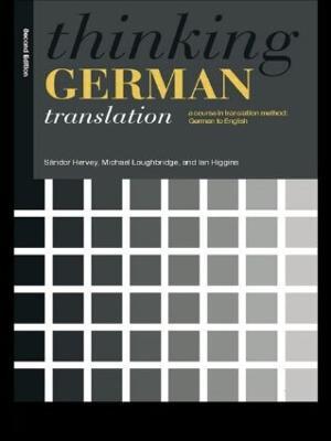 Thinking German Translation by Sandor Hervey