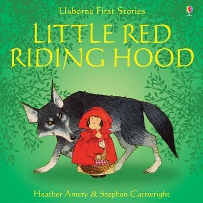 Usborne Fairytale Sticker Stories Little Red Riding Hood book