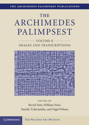 Archimedes Palimpsest book