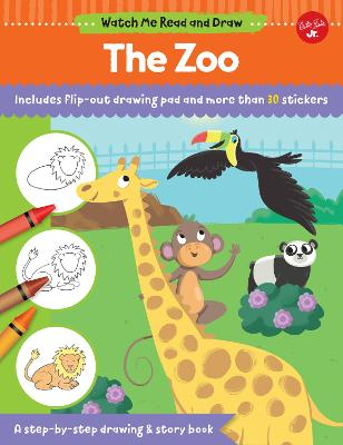 Watch Me Read and Draw: The Zoo by Samantha Chagollan