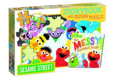 SESAME STREET BOOK AND PUZZLE by