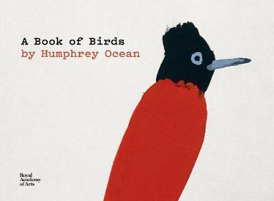 A Book of Birds: by Humphrey Ocean book