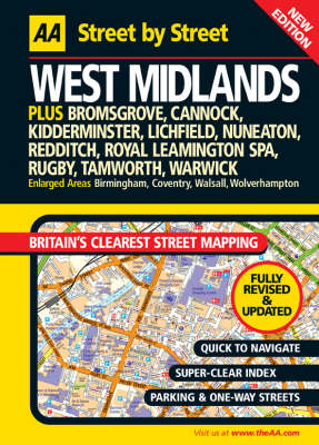 AA Street by Street West Midlands by Bloomsbury Publishing