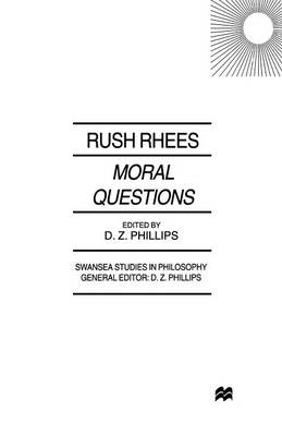 Moral Questions by R. Rhees