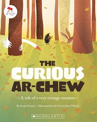 Curious Ar-Chew - a tale of a very strange creature book