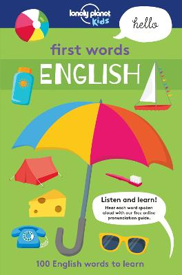 First Words - English book