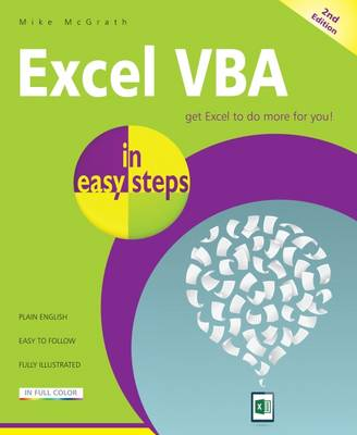 Excel VBA in easy steps book