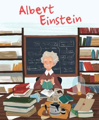 Albert Einstein Genius by Isabel Munoz