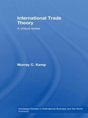 International Trade Theory book