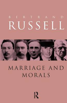 Marriage and Morals book