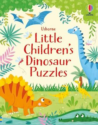 Little Children's Dinosaur Puzzles book