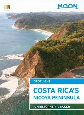 Moon Spotlight Costa Rica's Nicoya Peninsula by Christopher Baker