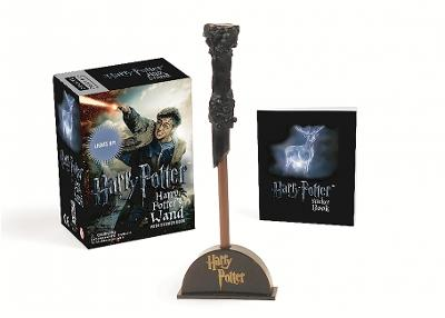 Harry Potter Wizard's Wand with Sticker Book: Lights Up! by Running Press