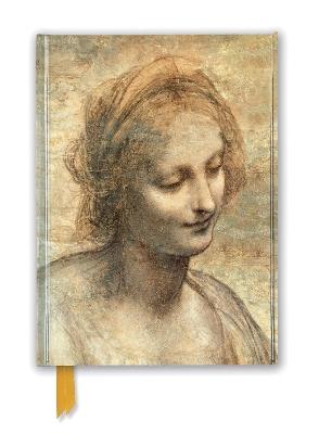 Leonardo Da Vinci: Detail of The Head of the Virgin (Foiled Journal) book
