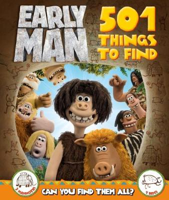 Early Man 501 Things to Find by Lake Press