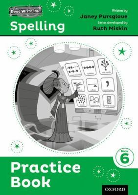 Read Write Inc. Spelling: Practice Book 6 Pack of 5 by Ruth Miskin