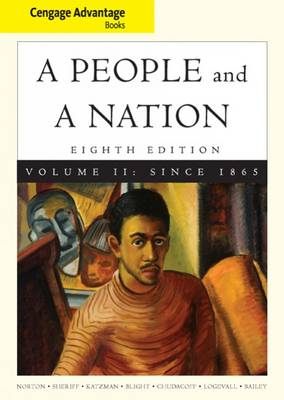 A People and a Nation: v.2: History of the United States by David W. Blight