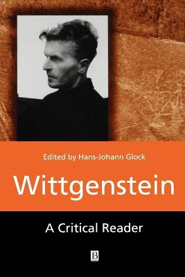 Wittgenstein by Hans-Johann Glock