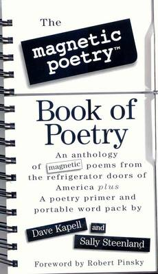Magnetic Poetry Book of Poetry by Dave Kapell