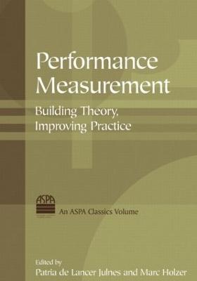 Performance Measurement book