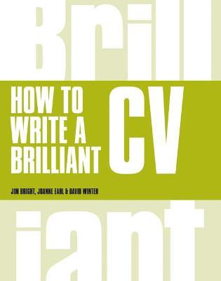 How to Write a Brilliant CV book