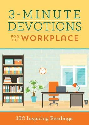 3-Minute Devotions for the Workplace by Pamela L McQuade