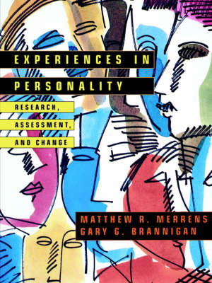 Experiences in Personality by Gary G. Brannigan