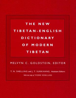 New Tibetan-English Dictionary of Modern Tibetan by Melvyn C. Goldstein