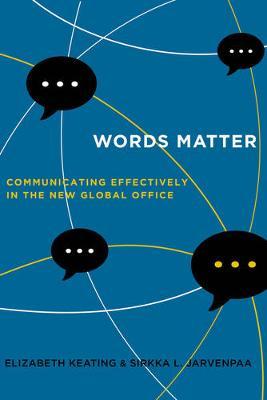Words Matter by Elizabeth Keating