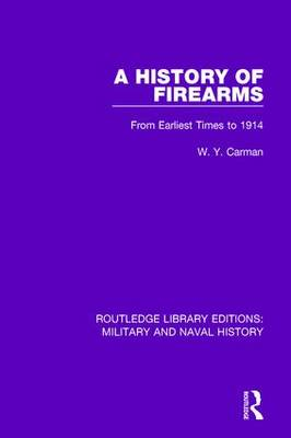 History of Firearms book