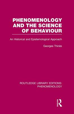 Phenomenology and the Science of Behaviour book