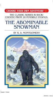 Choose Your Own Adventure #1: Abominable Snowman by Montgomery,R,A