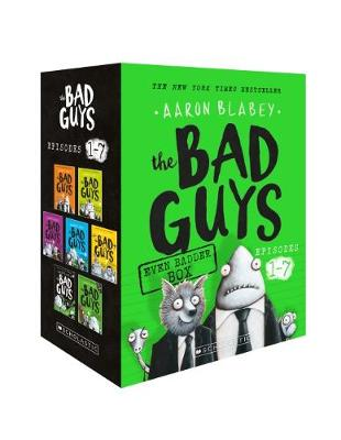 BAD GUYS 1-7 TOYCAT by Aaron Blabey
