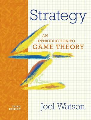 Strategy 3E by Joel Watson