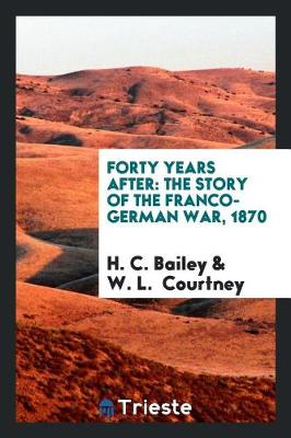 Forty Years After book
