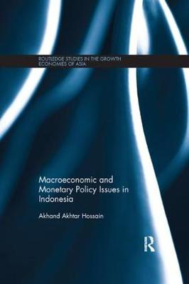 Macroeconomic and Monetary Policy Issues in Indonesia book