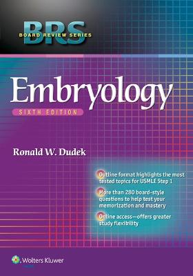 BRS Embryology by Ronald W. Dudek